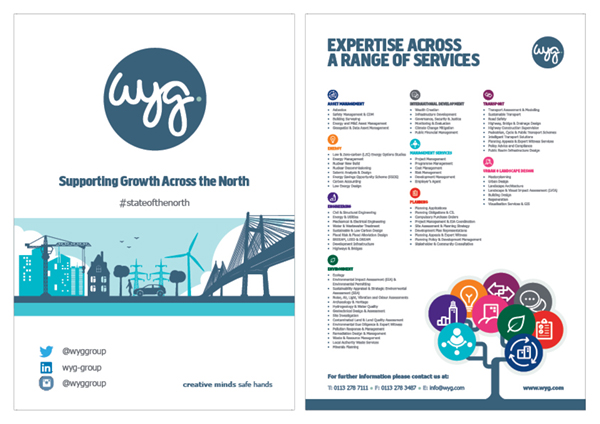 WYG flyers and posters