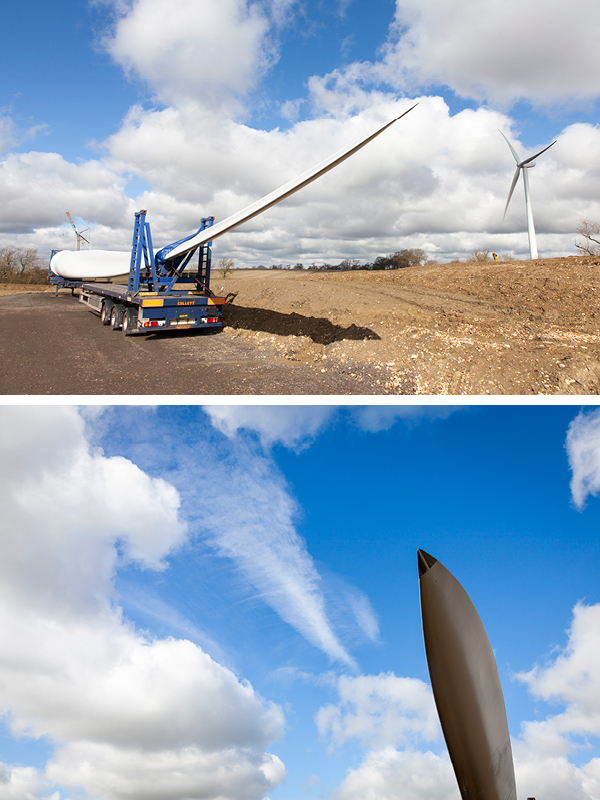 Windfarm installation