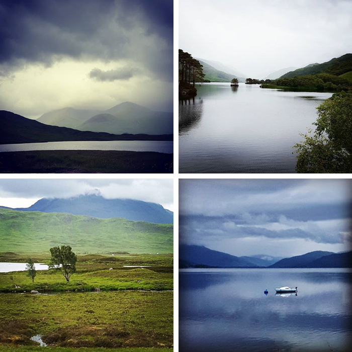 Instagram in Scotland