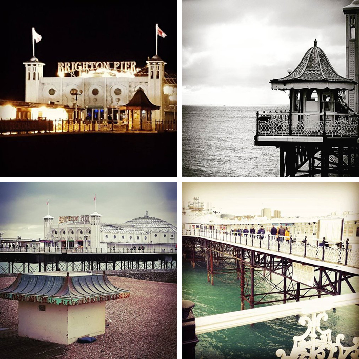 Instagram at the seaside